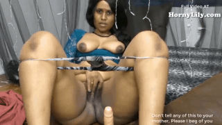 Indian Maid fucking a dildo – Horny Lily