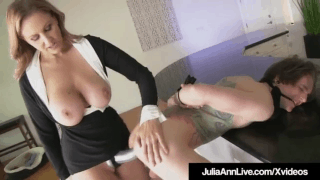 Femdom Milf Julia Ann fuck Young Boy Toy XXX SEX video