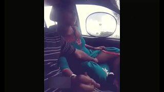 Tamilxxx young horny couple outdoor car sex mms