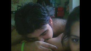 indian Girlfriend bring boyfrnd to her singleroom and fucking sex video