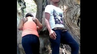 indian Girlfriend xxx fucking in public park