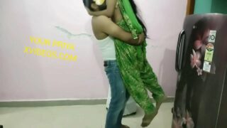 latest desi sex scandal video punjabi jija hot sali in kitchen sex