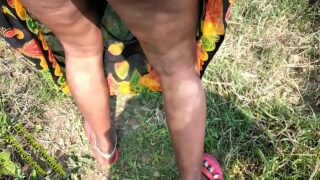 Sexy bhabhi gets fucked in jangal by boyfriend in front of husband