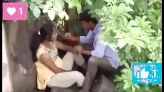 indian village slut wife xxx fucked hard in garden by friend and husband